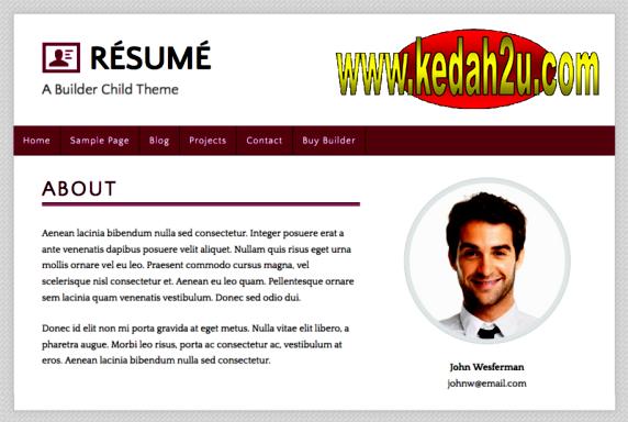 Kedah2u Cara Menyediakan Resume Kerja Curriculum Vitae Cv